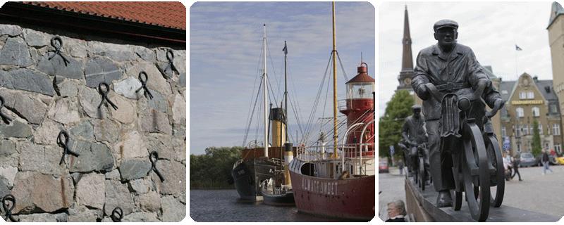Kulturmiljö i Sala :: Östra hamnen i Västerås :: Stora torget i Västerås