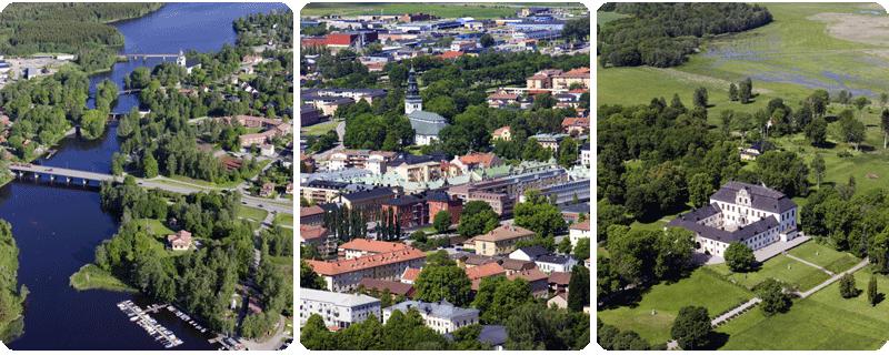 Västanfors vid Kolbäcksån :: Köping :: Tidö slott